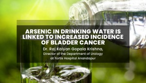 Arsenic in Drinking Water is linked to increased incidence of Bladder Cancer