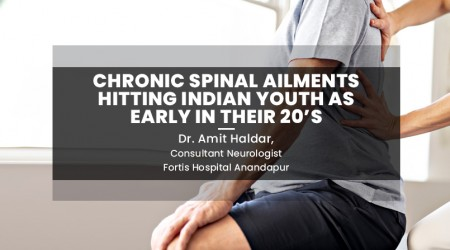 Chronic Spinal Ailments hitting Indian youth as early in their 20's