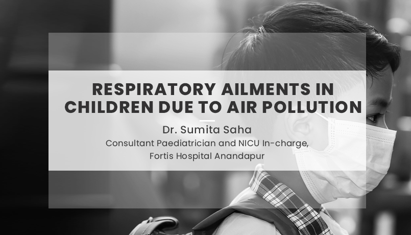 Respiratory ailments in children due to Air Pollution
