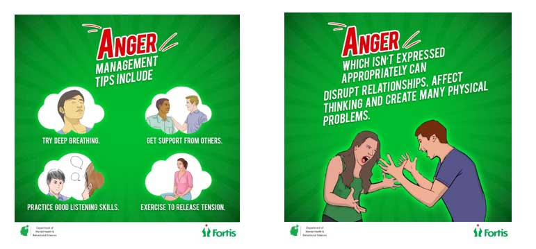 Anger Management Tips - Fortis Healthcare